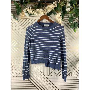 A.L.C Japanese Yarn Knit Striped Sweater